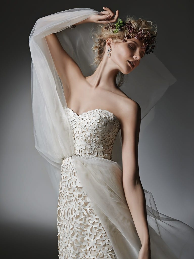 favorite wedding dresses of 2015 - Kristen by Sottero and Midgley