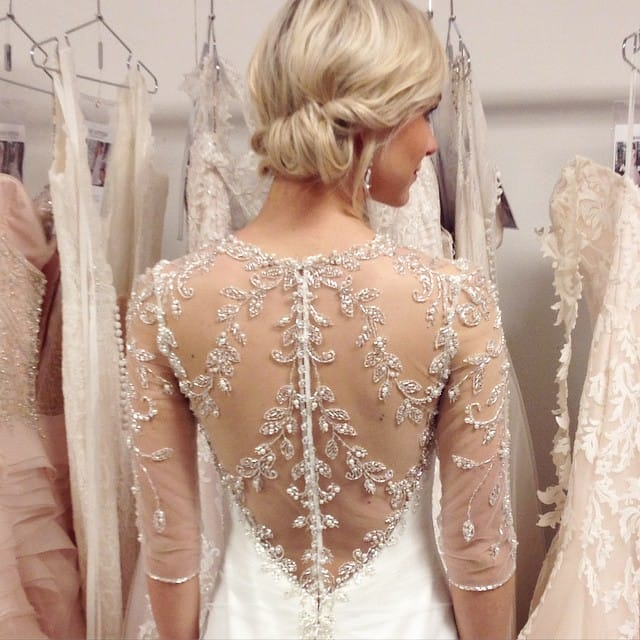 beautiful wedding inspiration from instagram - Maggie Sottero