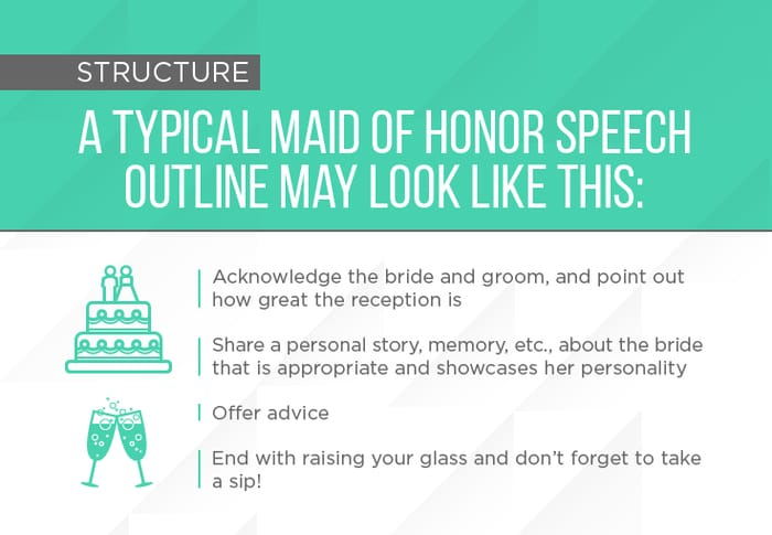 Tips on How to Give the Best Maid of Honor Speech Ever
