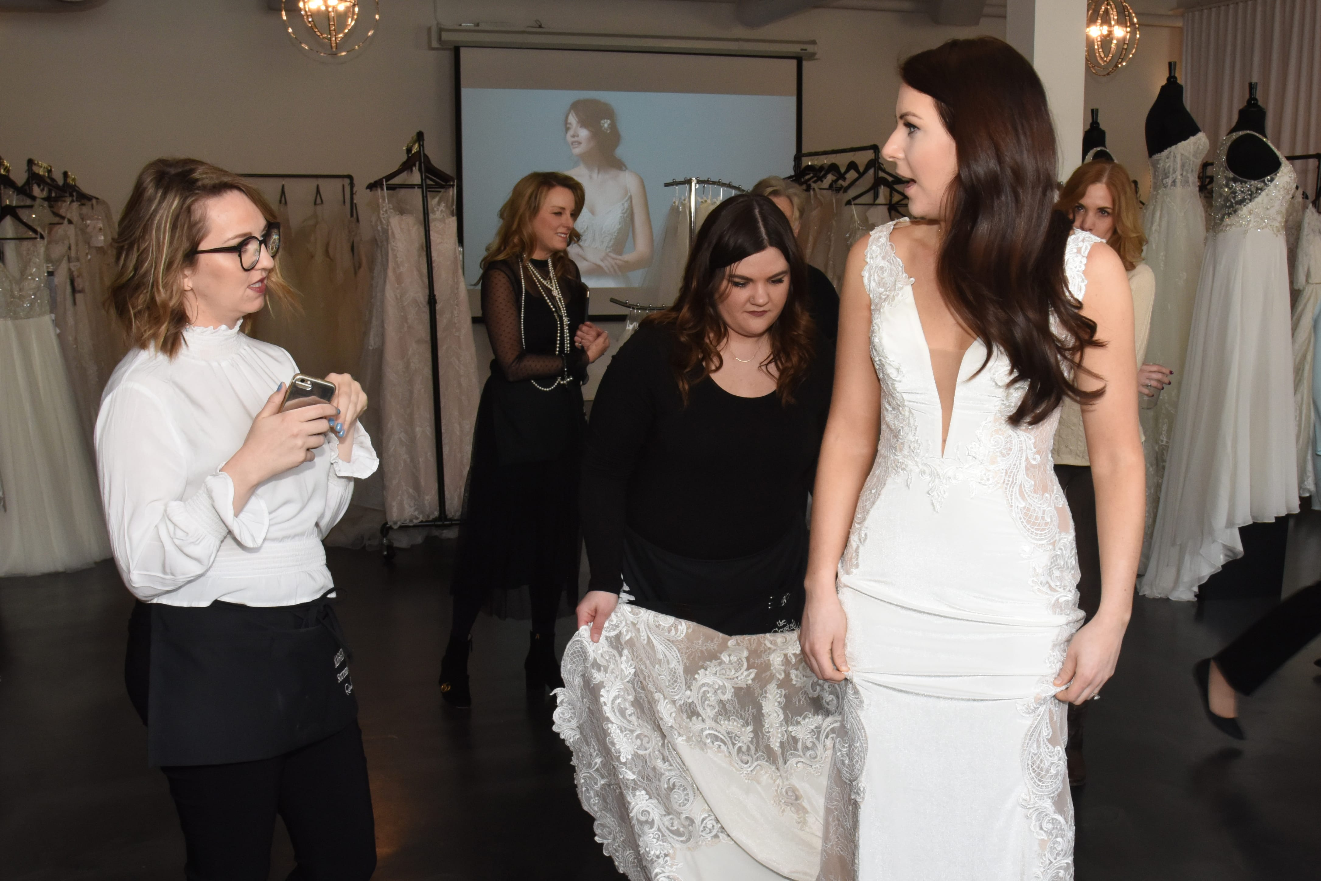 0dcf720ffa Maid of Honor Etiquette for Wedding Dress Shopping - Love Maggie ...