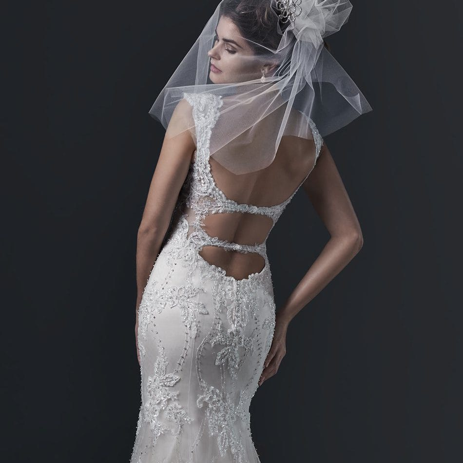 keyhole wedding dress - Brecia by Sottero and Midgley