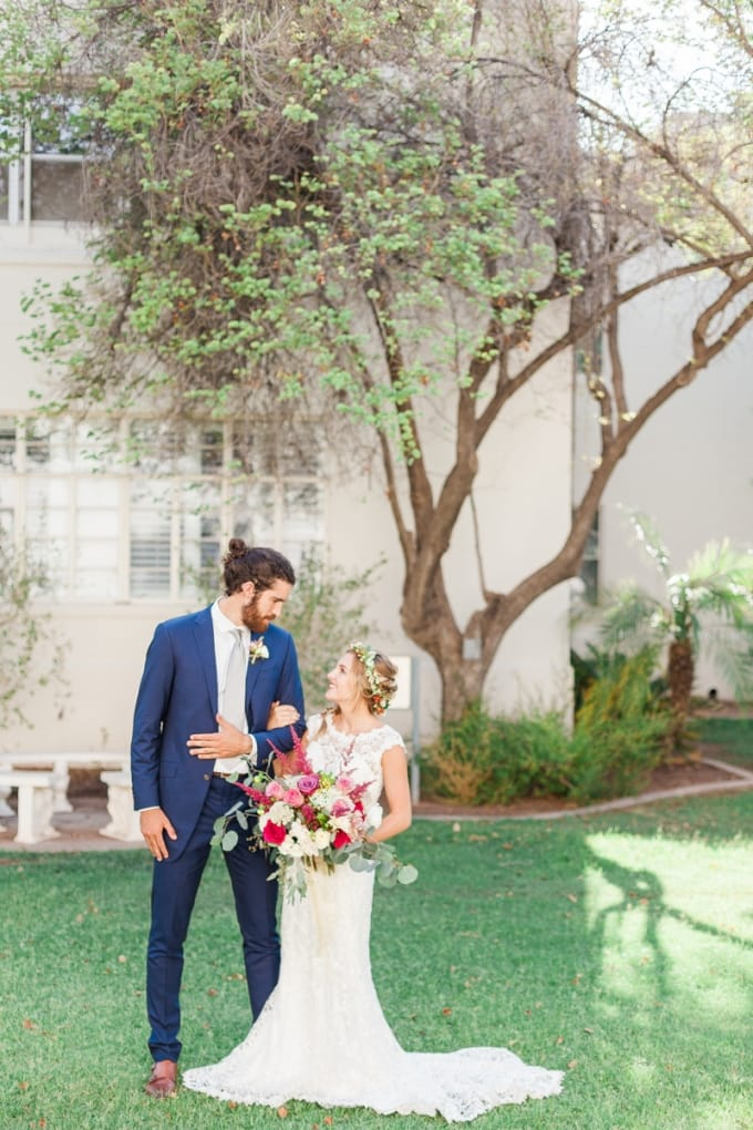 elegant and whimsical garden wedding - Trudy dress by Maggie Sottero