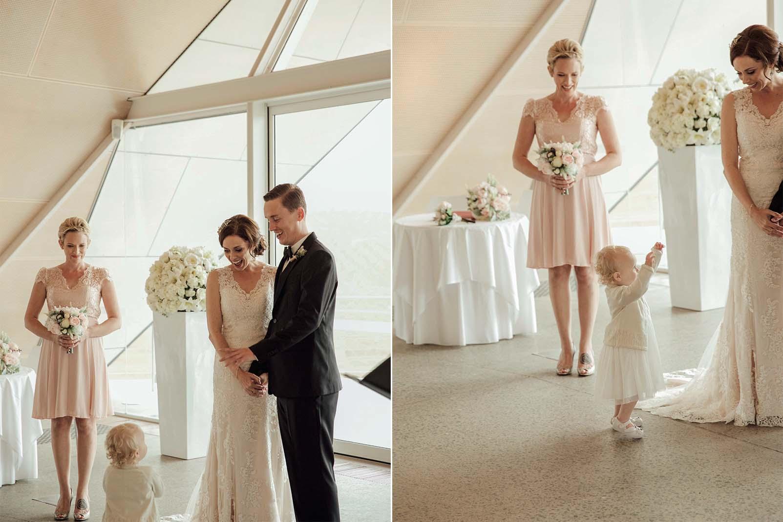 Maggie Bride Amy's stunning Australia wedding - Melanie by Maggie Sottero