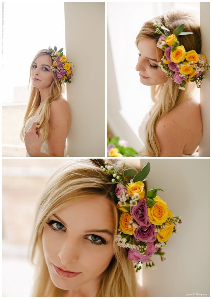 a flower crown for every bride - Boho Bride wearing Maggie Sottero