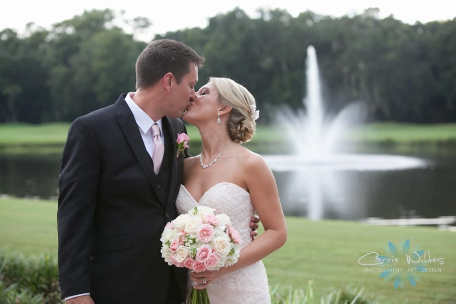 pretty pink maggie bride melissa looks gorgeous in haven - Have by Maggie Sottero
