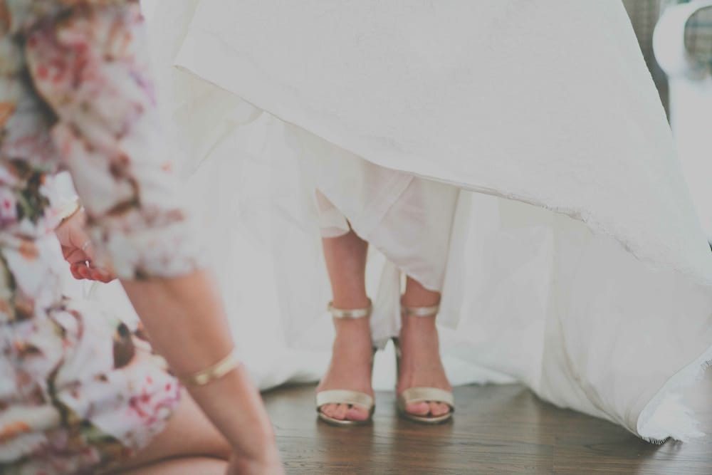 Chic and Eclectic Wedding - Maggie Bride Katie wearing Amara by Sottero and Midgley=