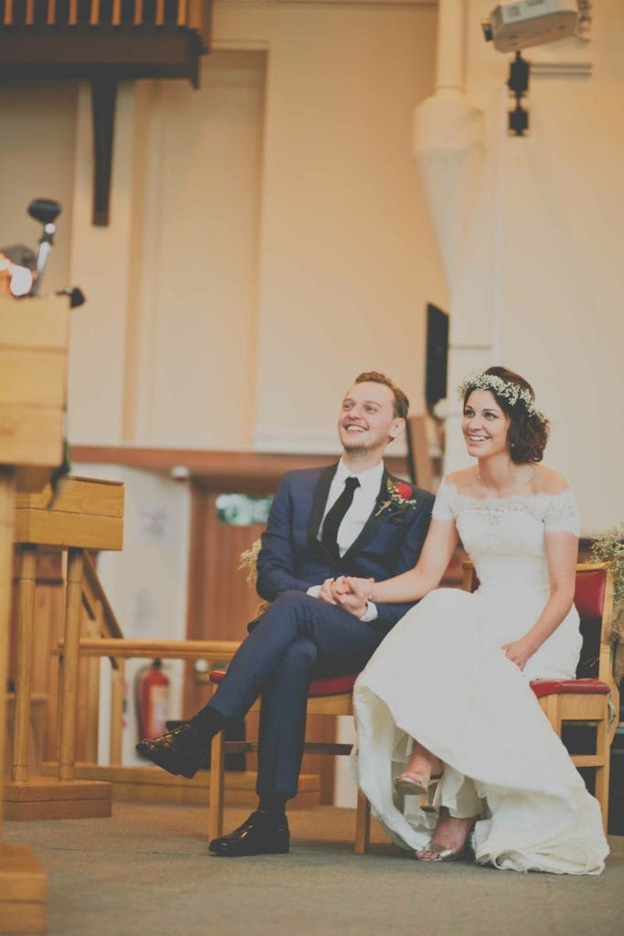 Chic and Eclectic Wedding - Maggie Bride Katie wearing Amara by Sottero and Midgley