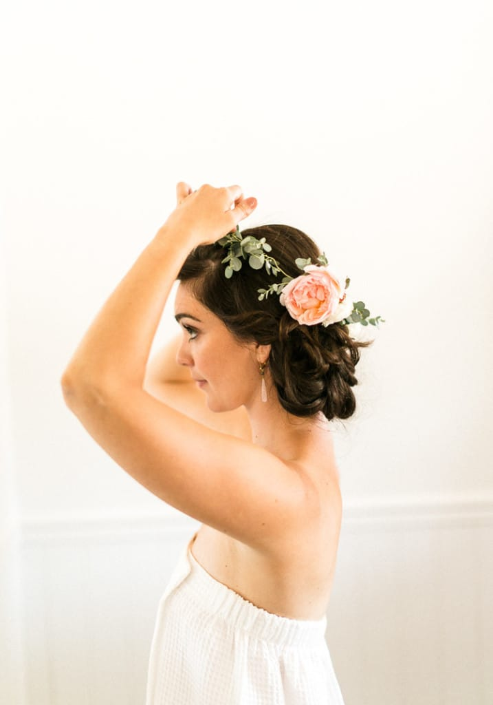 A flower crown for every bride - Statement Bridesmaid
