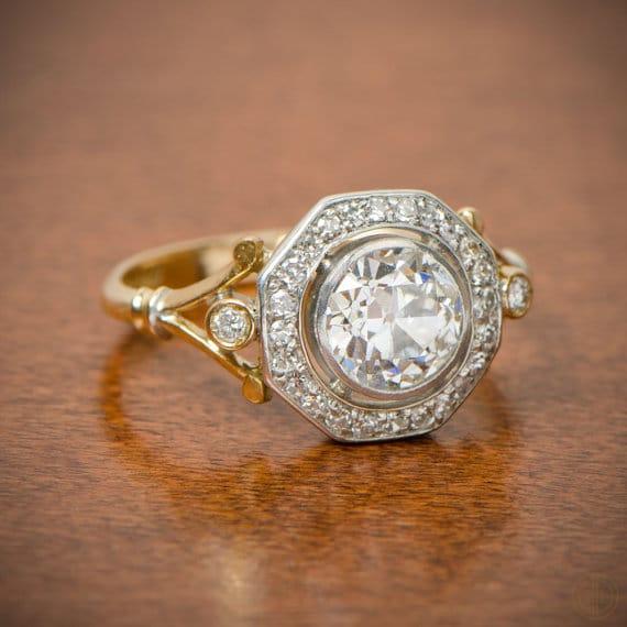 Edwardian Engagement Ring. Circa 1900