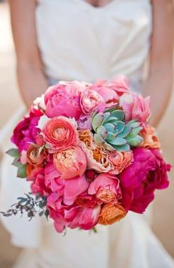 beach bride bouquet inspiration - Find Your Bouquet Style Maggie Sottero