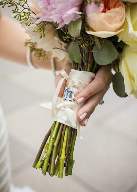 How to: Incorporate family heirlooms in your wedding. Make your wedding personal with this guide from Maggie Sottero.
