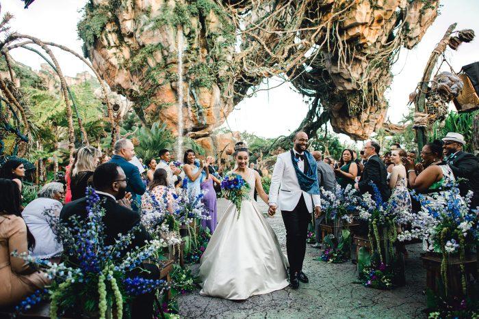 Romantic Wedding Destination Pandora in Disney World's Animal Kingdom