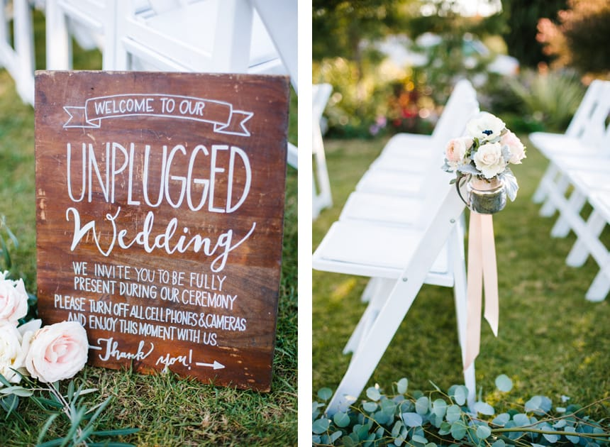 How to Orchestrate an Unplugged Ceremony
