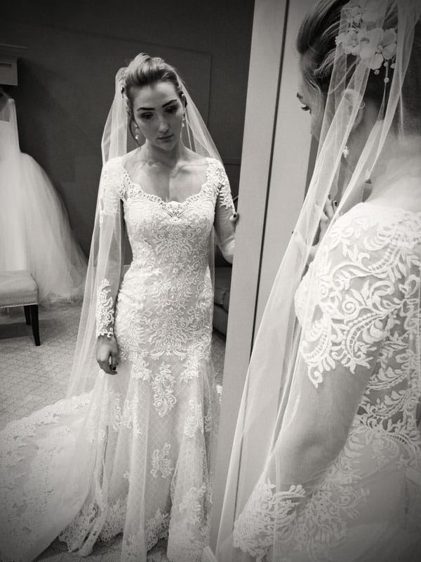 Get the perfect fit by purchasing alterations for your wedding dress