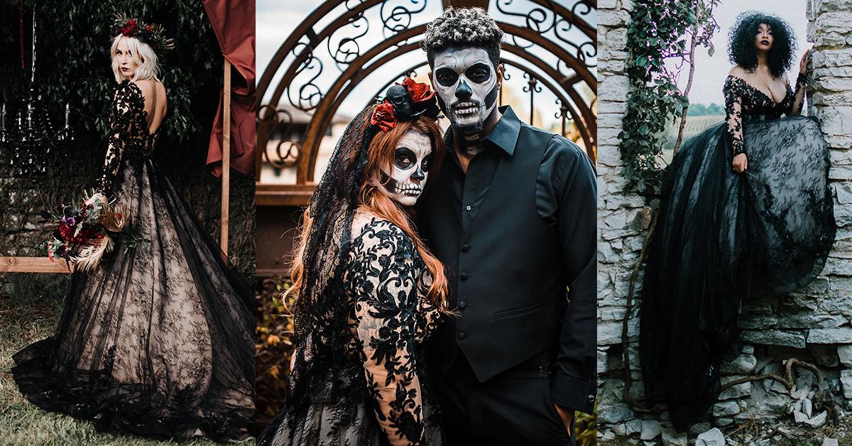 Halloween Wedding Inspiration Banner Image