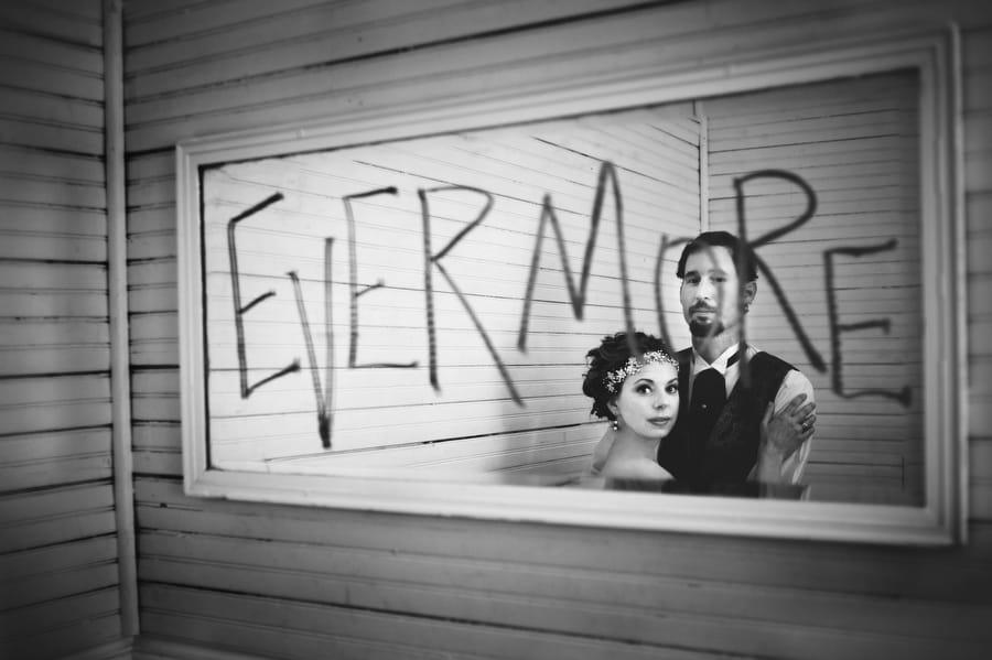 Halloween Wedding Inspiration for the Alternative Bride - Ellington wedding dress by Sottero and Midgley