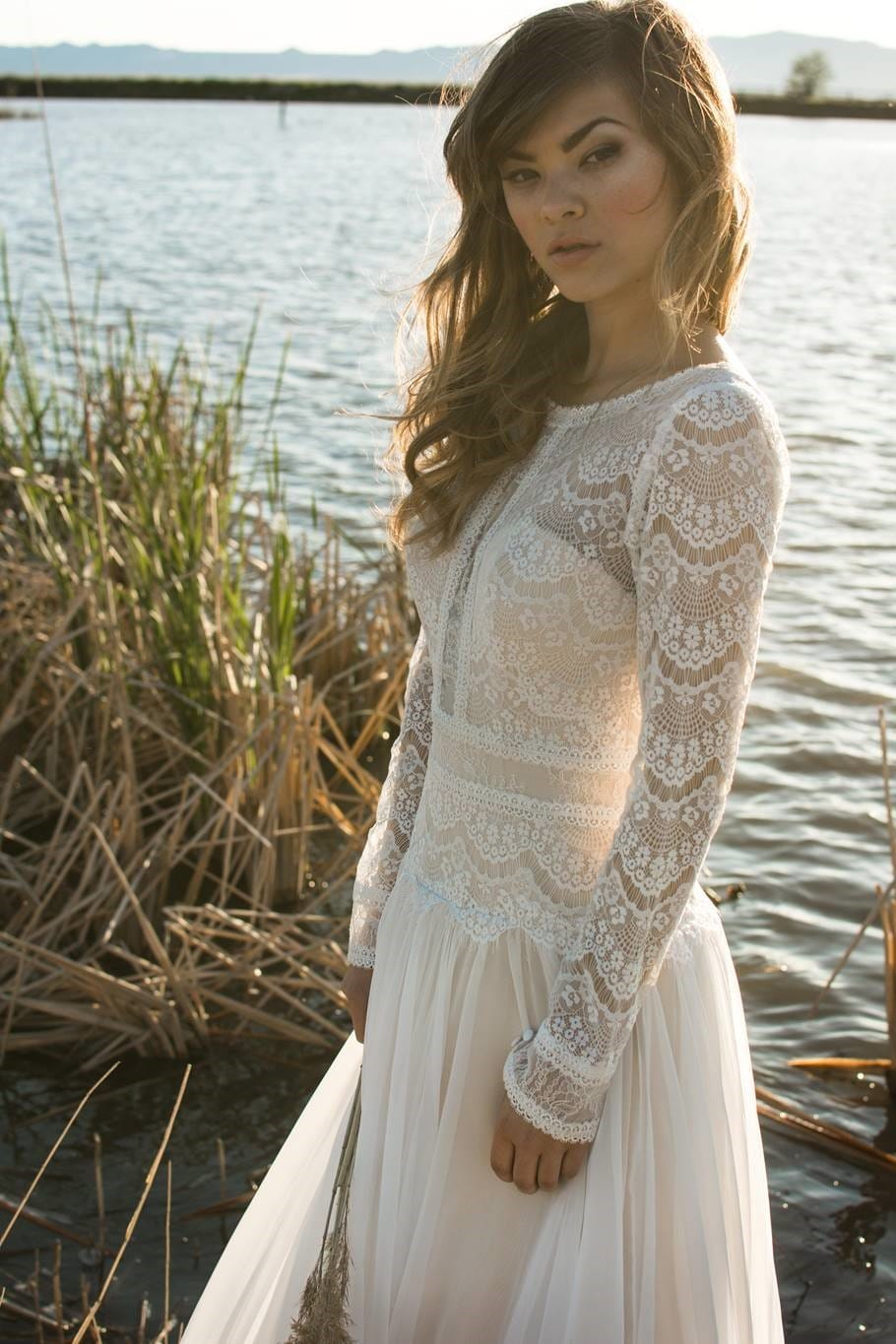 Golden Sunlight and Boho Brides - Styled Shoot Boho Wedding Dresses by Sottero and Midgley and Maggie Sottero