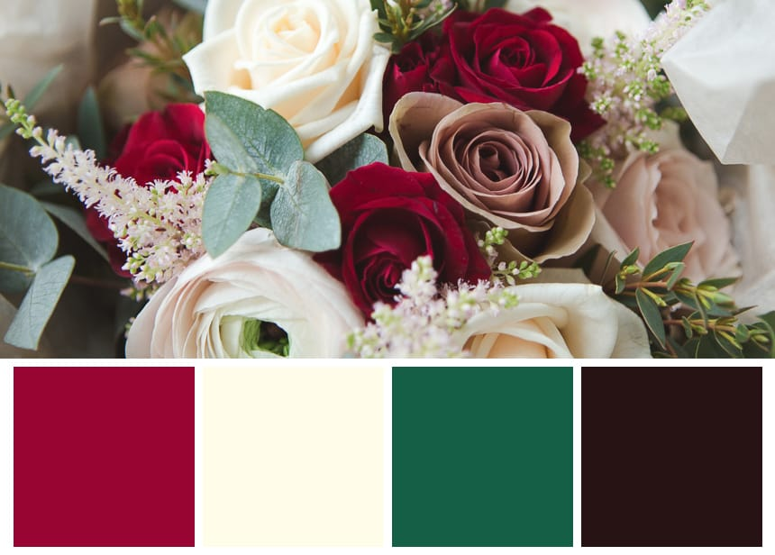 Nine Palettes for a Fall Wedding