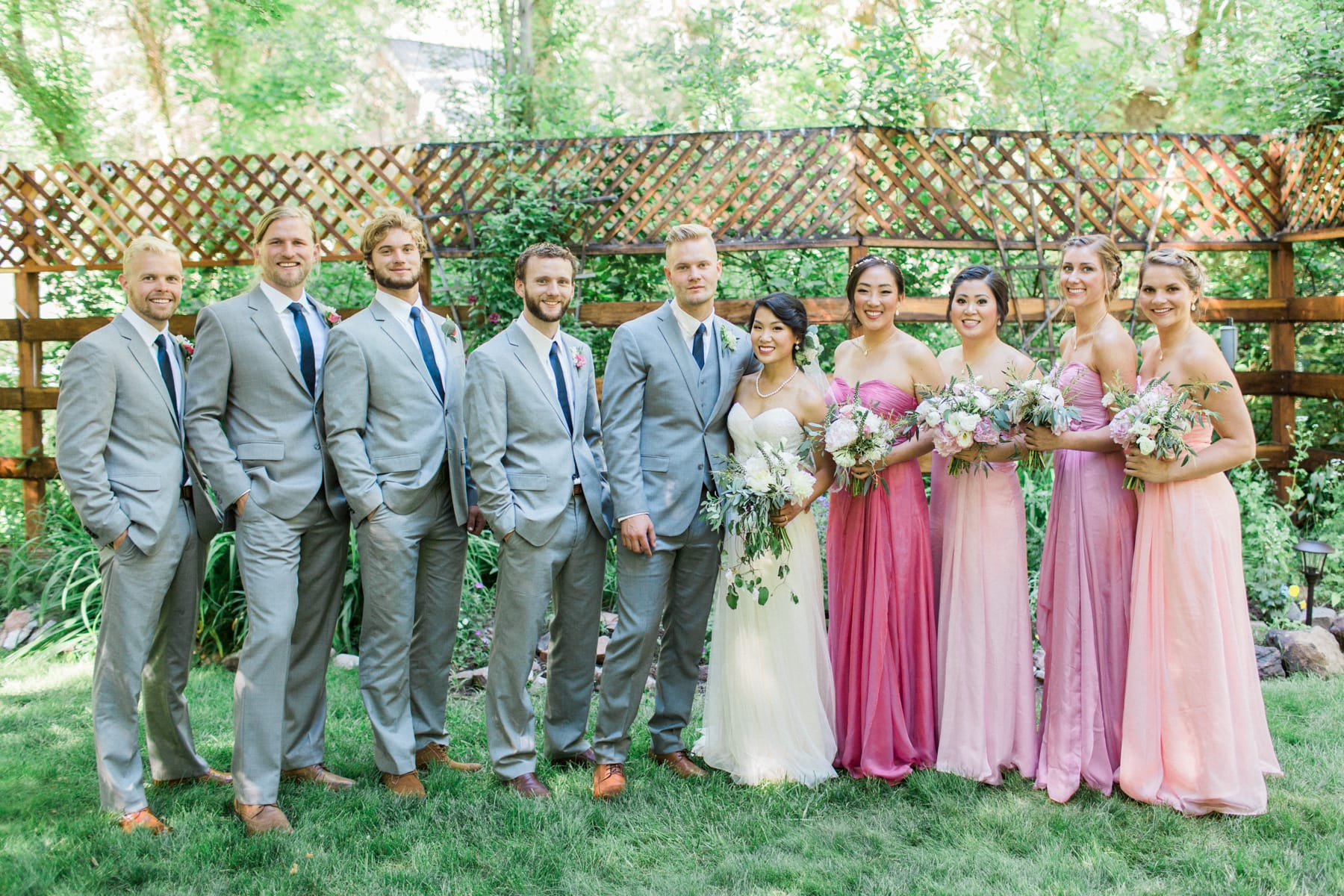 Emigration Canyon Wedding Featuring Patience Wedding Dress - Maggie Bride Hoa
