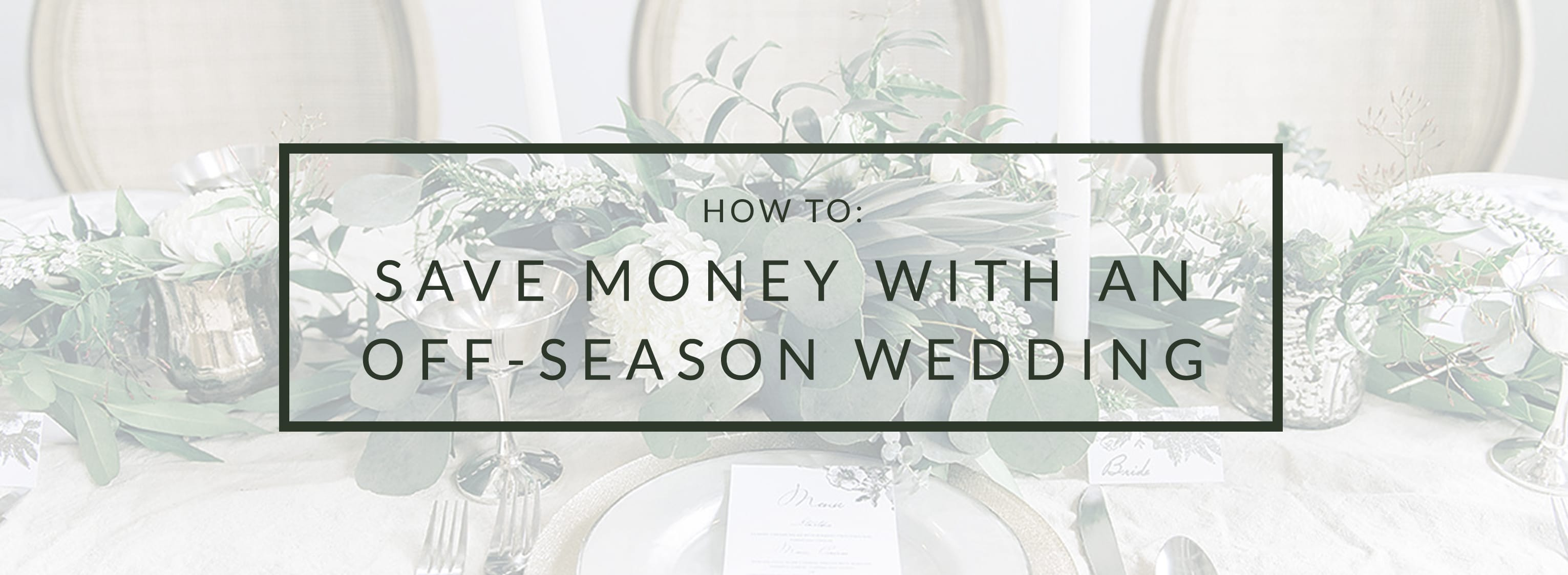 Save Money with an Off-Season Wedding: Plan Your Wedding with Maggie Sottero