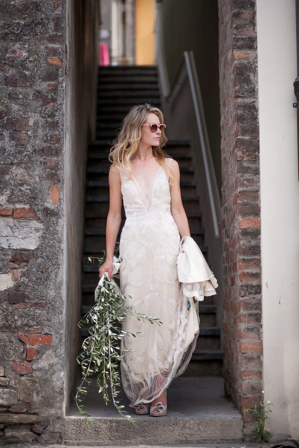 Super Cool Italian Wedding With Vintage Inspired Gown Love Maggie