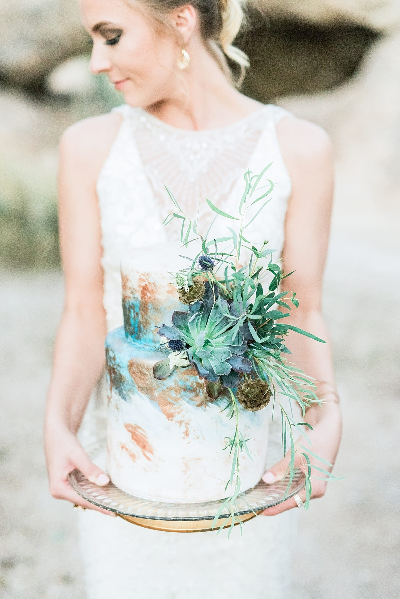 City of Rocks Styled Shoot Featuring Maui - Maui wedding dress by Sottero and Midgley