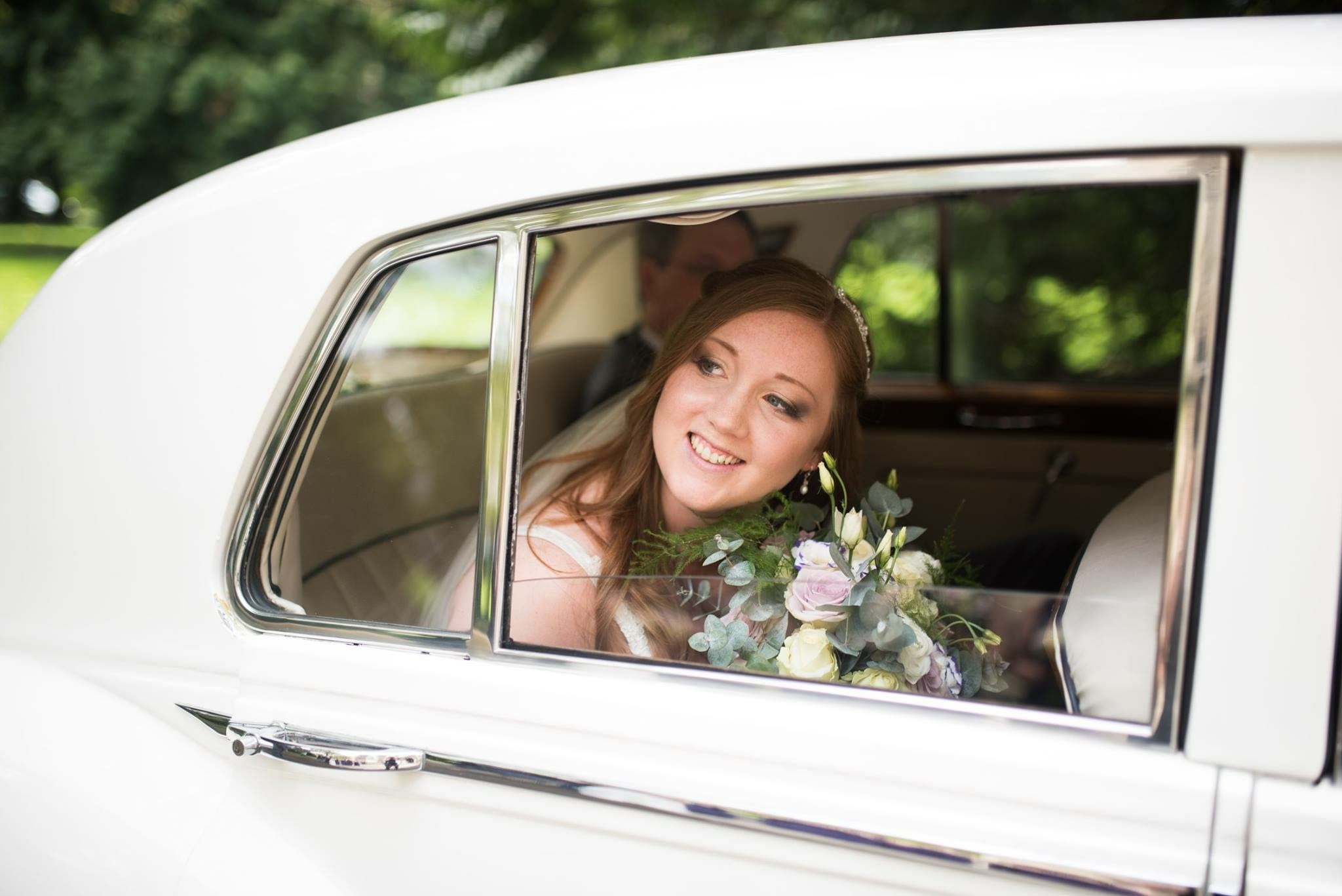 Customized Patience in Chic Vineyard Wedding - Maggie Bride wearing Patience by Maggie Sottero