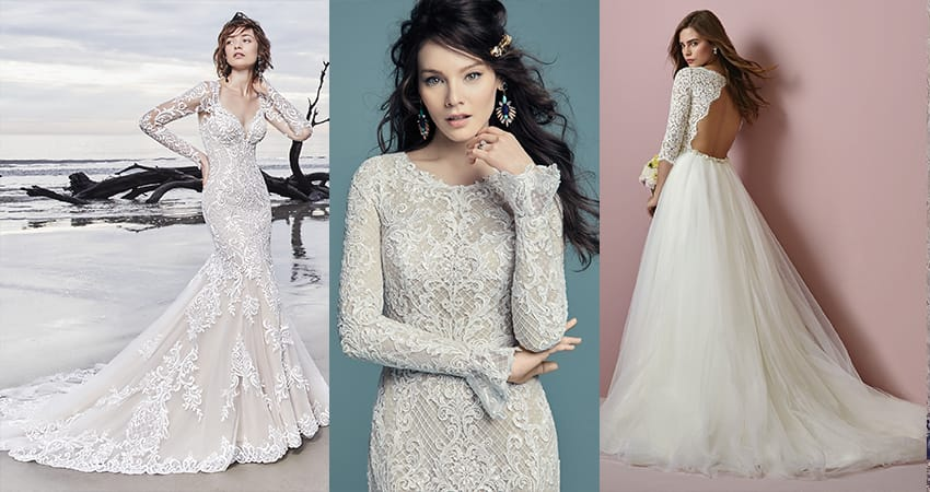 Favorite Sleeved Wedding Dresses Love Maggie