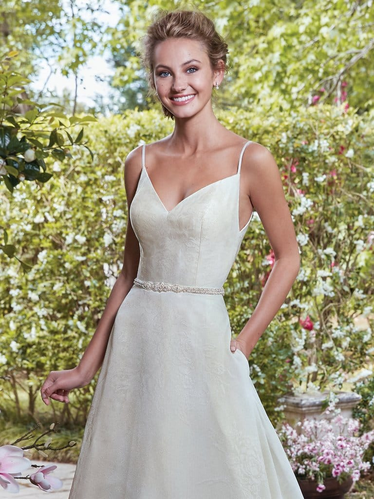 Isolde wedding dress by Rebecca Ingram