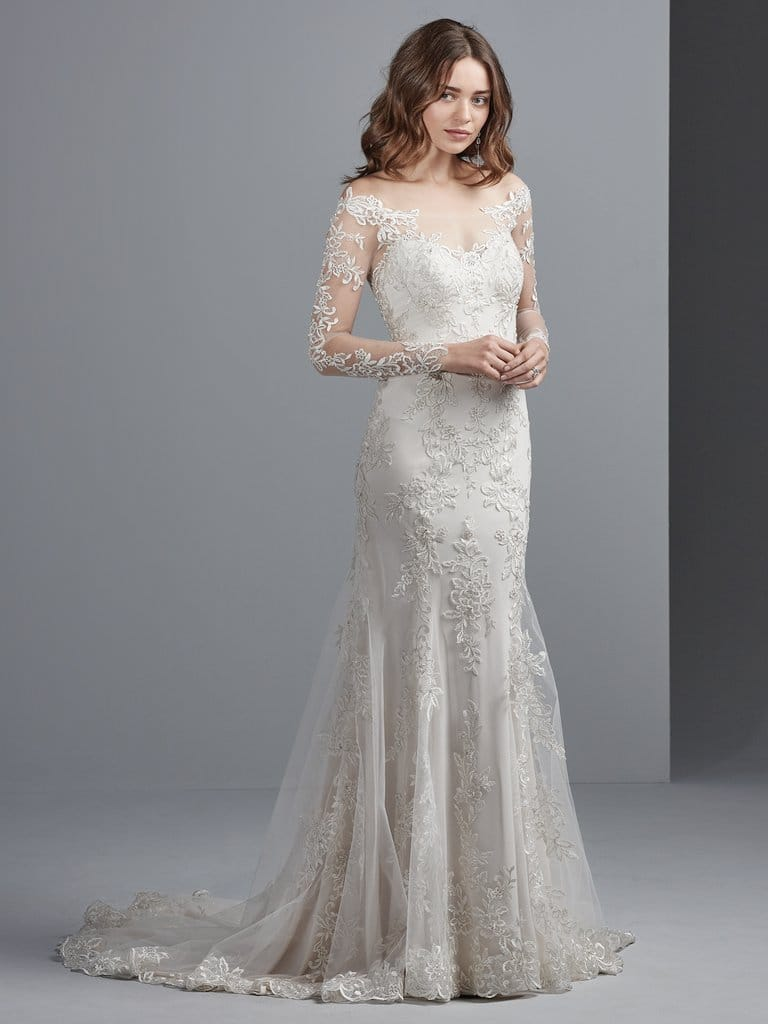 Fall 2017 Wedding Dresses to Fall in Love With - Jillianna wedding dress by Maggie Sottero