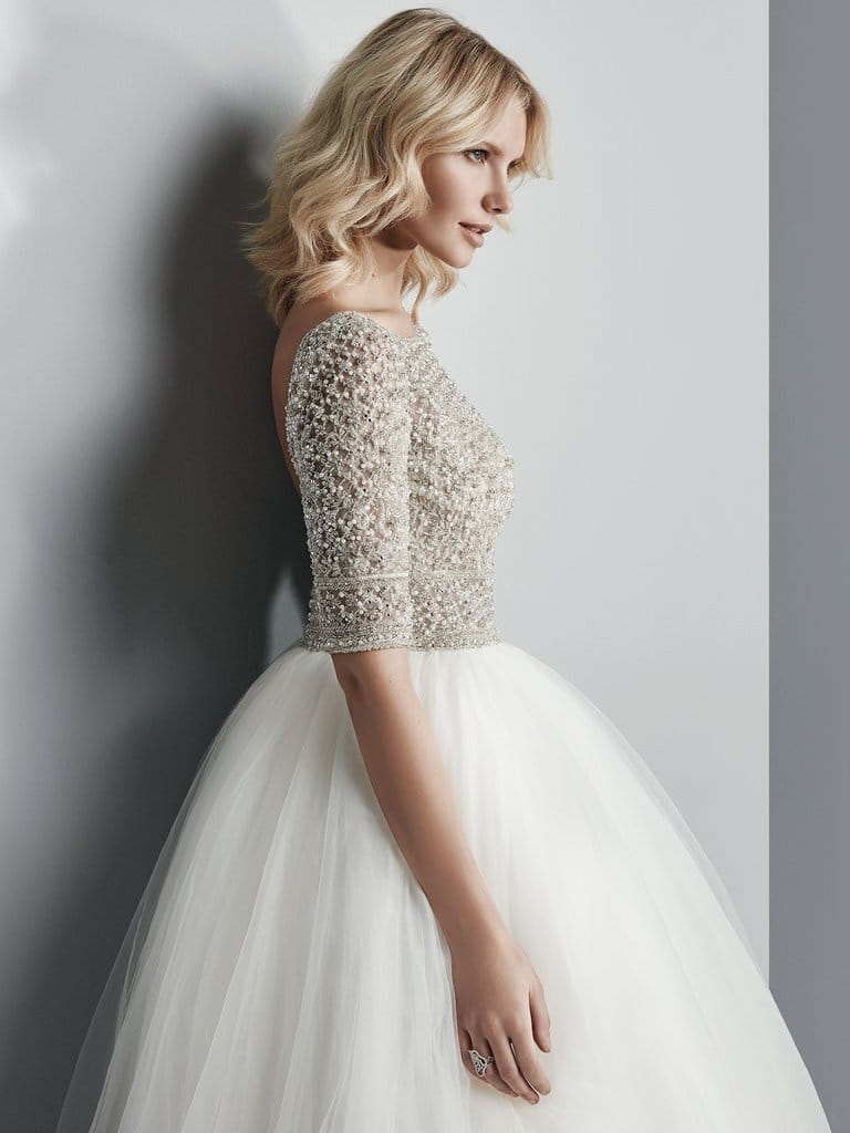 Fall 2017 Wedding Dresses to Fall in Love With - Allen wedding dress by Maggie Sottero