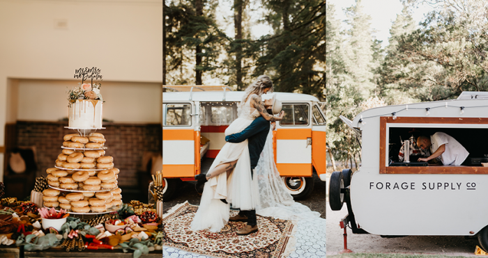 Collage of Cute and Unique Wedding Ideas