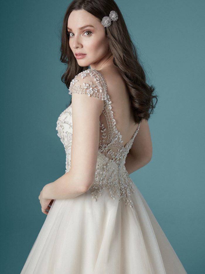 Zandrina Ballgown Wedding Dress by Maggie Sottero