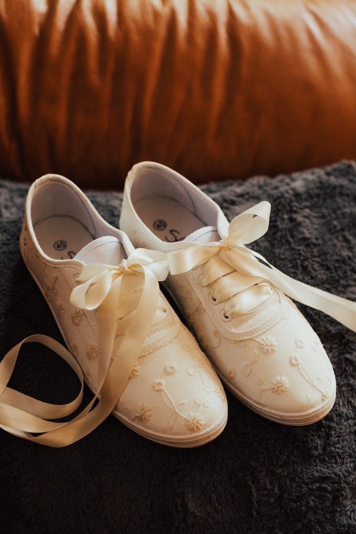 Converse Polka Dot Shoes for Wedding