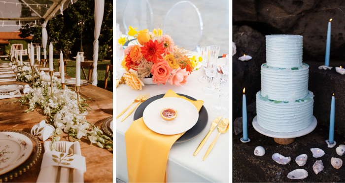 Trendy Summer Wedding Color Palettes