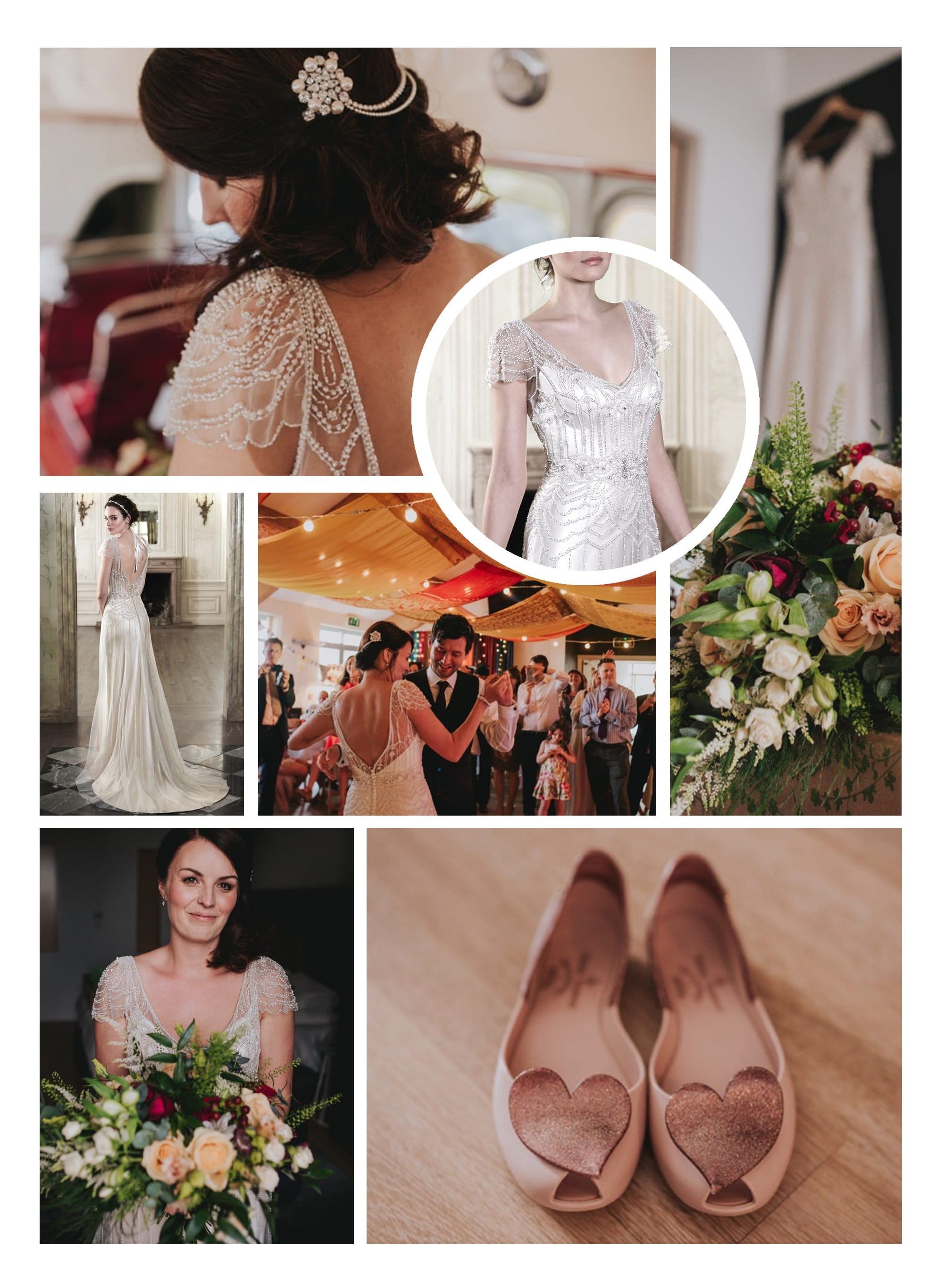 Real Brides and Their Fabulous Shoes - Wedding Inspiration featuring Ettia by Maggie Sottero