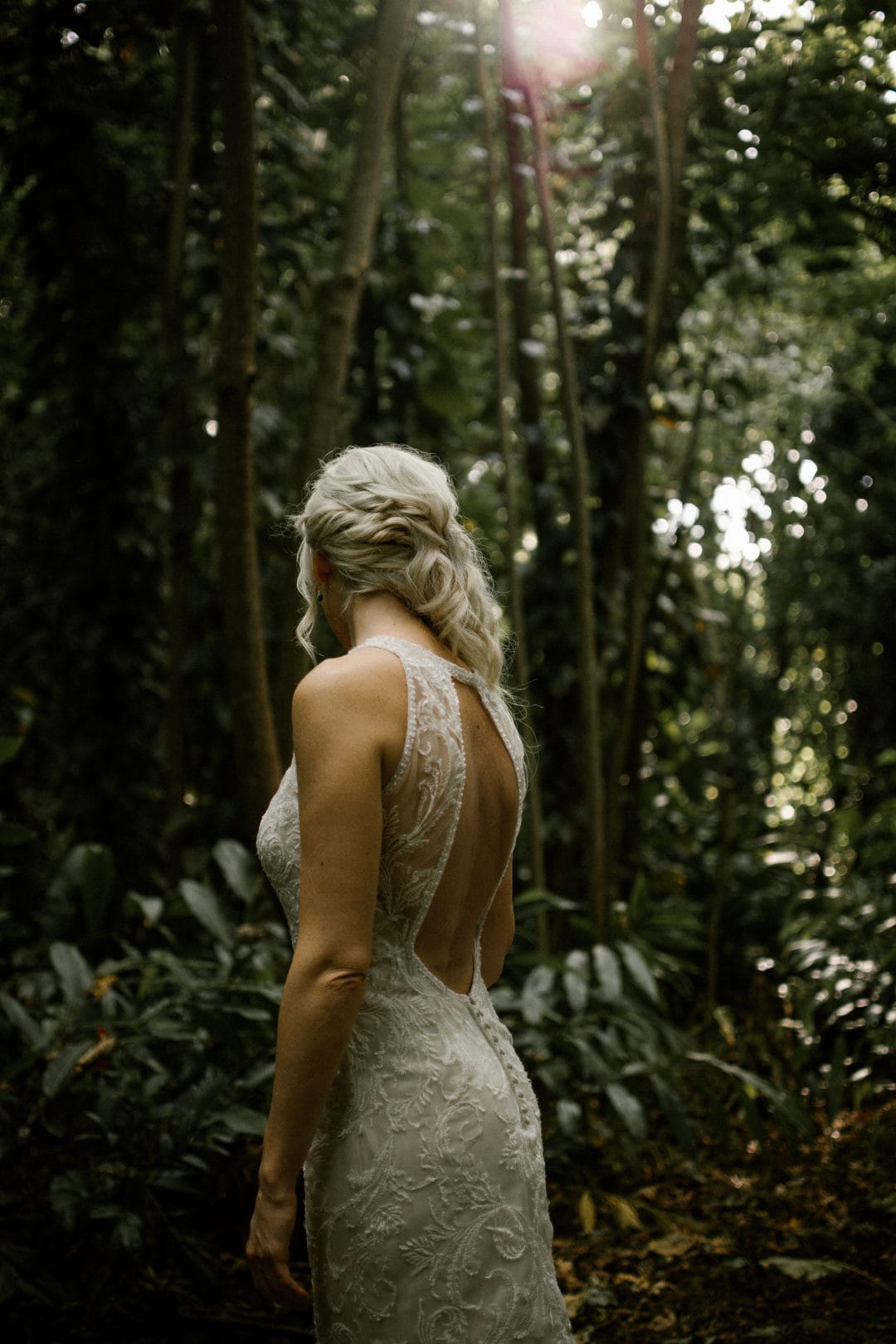 Our Favorite Boho Brides and Boho Wedding Dresses! - Maggie Bride wearing Blaise by Maggie Sottero