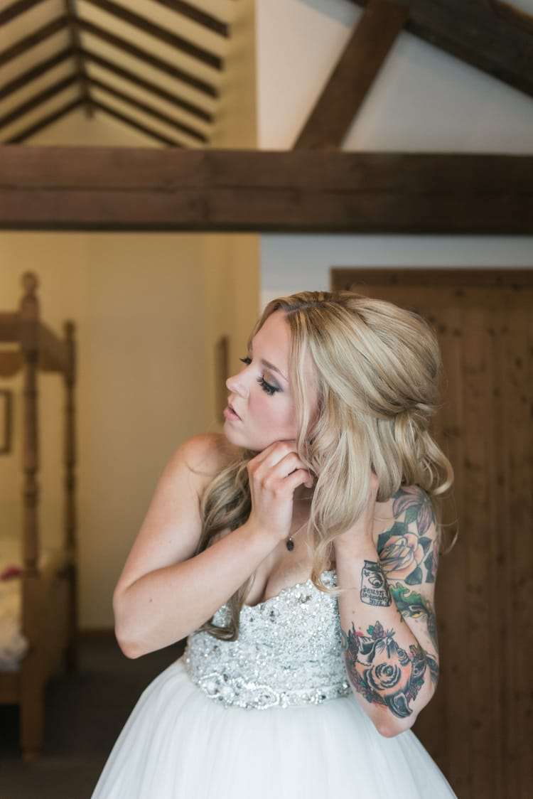 Our Favorite Boho Brides and Boho Wedding Dresses! - Maggie Bride wearing Esme by Maggie Sottero