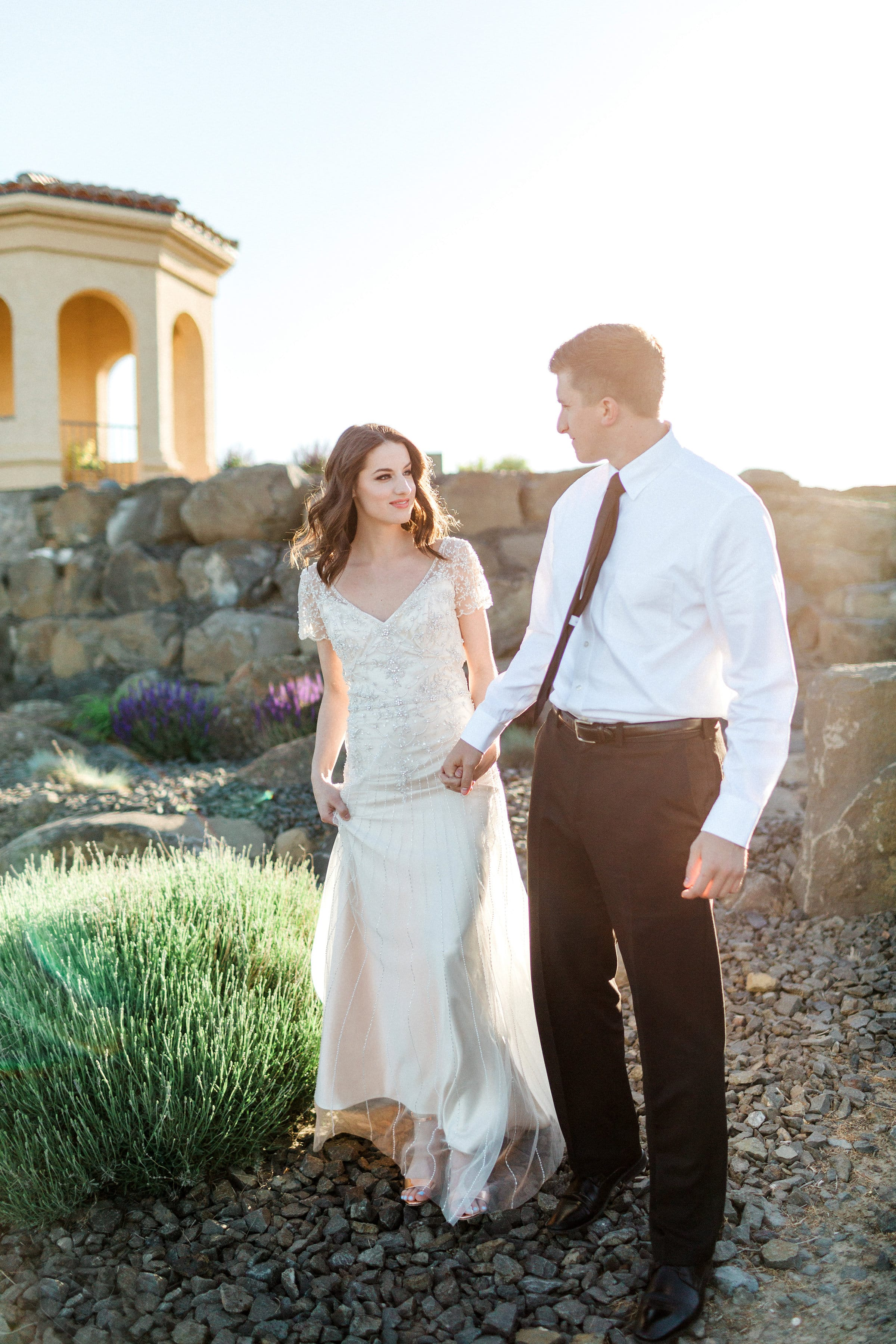 Vintage-Inspired Wedding Gown in Dreamy Styled Shoot