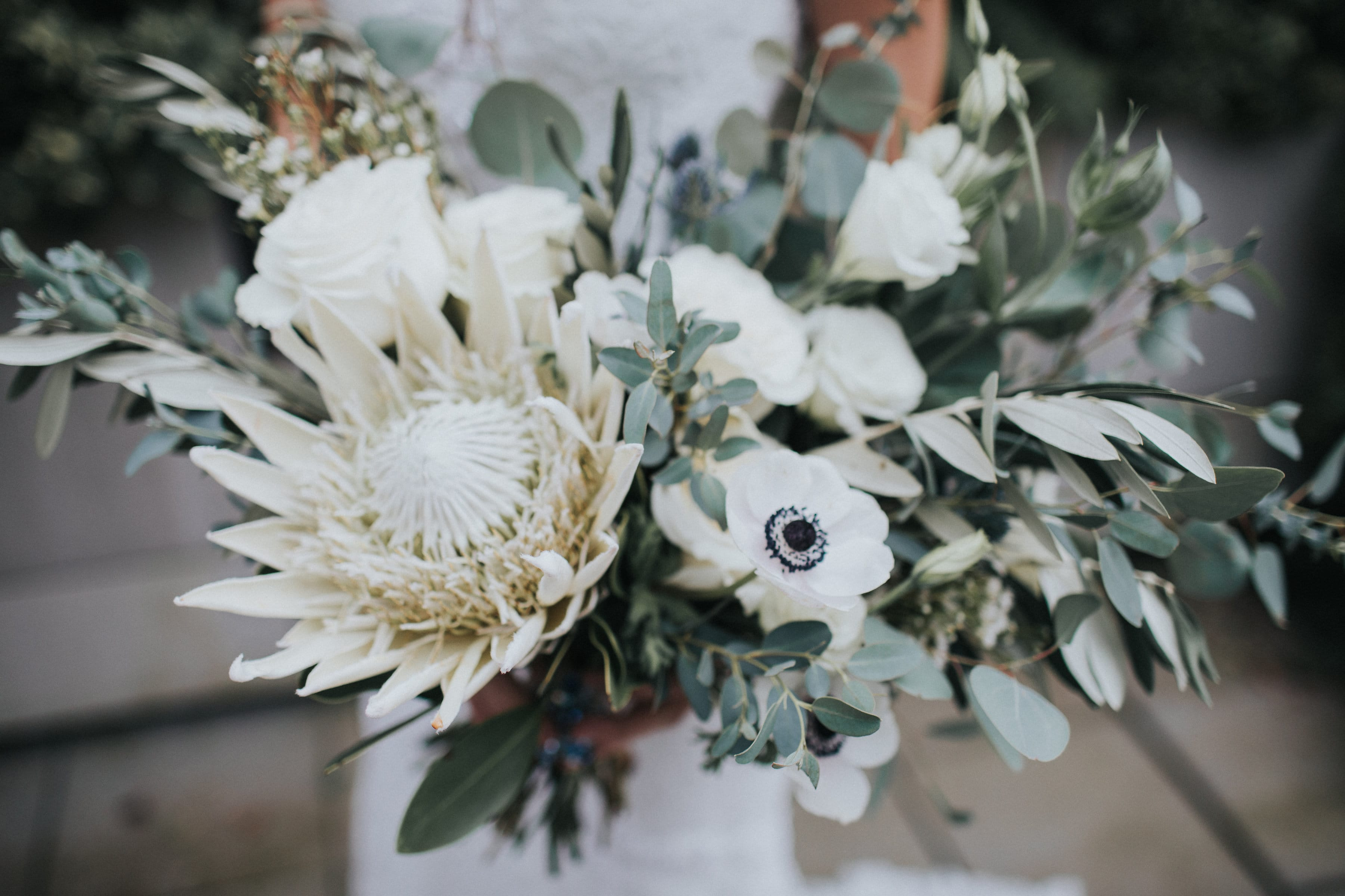 9 Boho Bouquets For Your Eclectic Wedding Gown