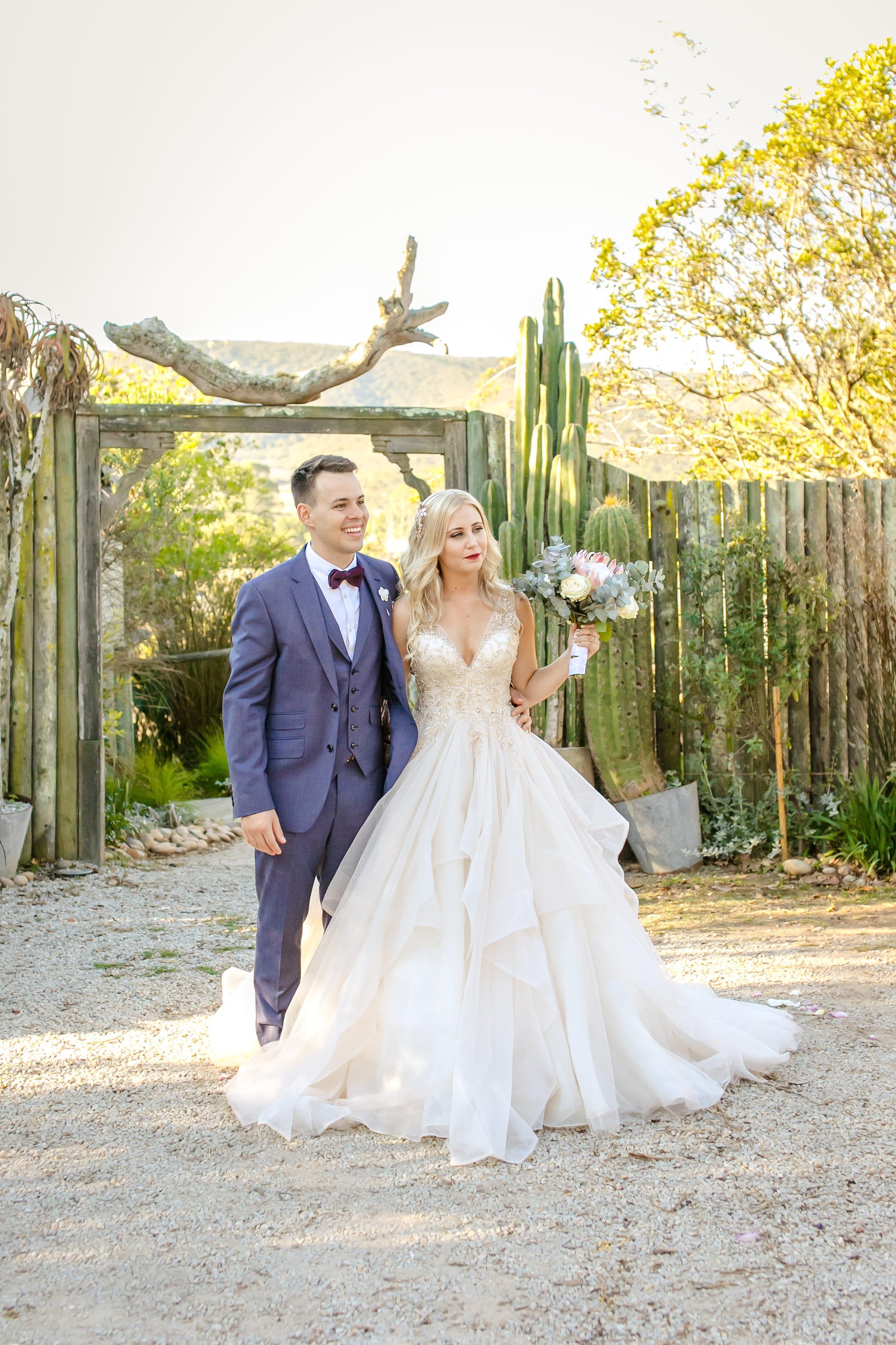 Chic Princess Wedding Dress in Elegant Australia Wedding - #MidgleyBride wearing Amélie by Sottero and Midgley