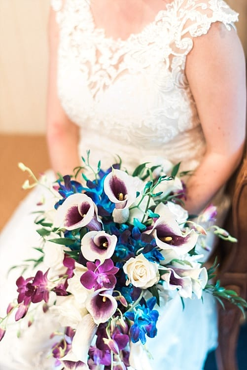Here are 3 DIY Wedding Bouquets Inspired by Real Brides Pro Designs - Maggie Bride wearing Francesca by Sottero and Midgley