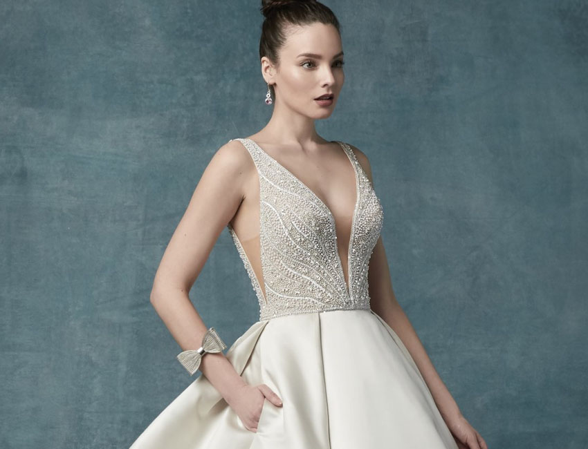 2019 Satin Wedding Dresses: Luxe, Shimmery, And Regal