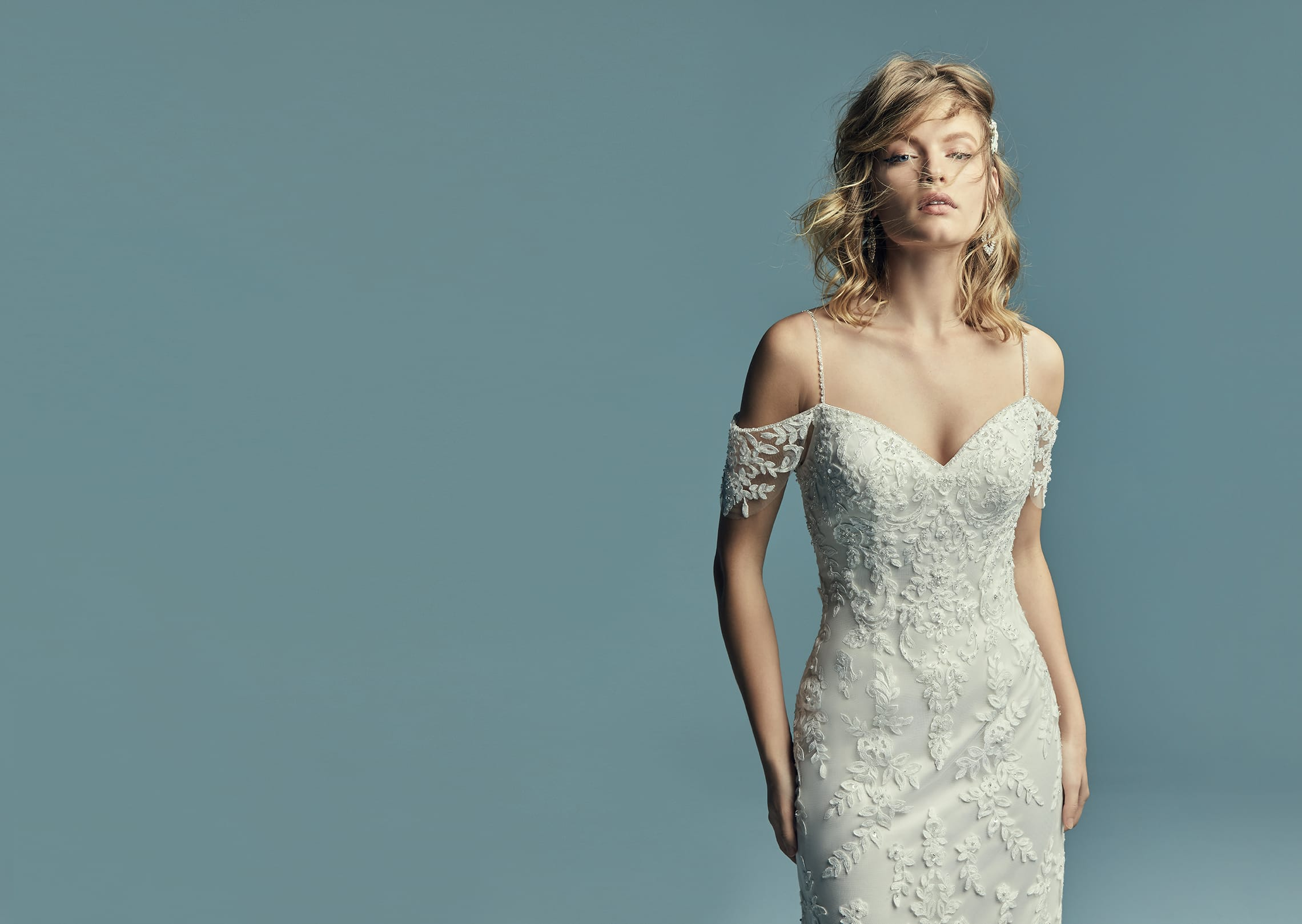 New Boho Wedding Dresses From The Lucienne Collection Love Maggie