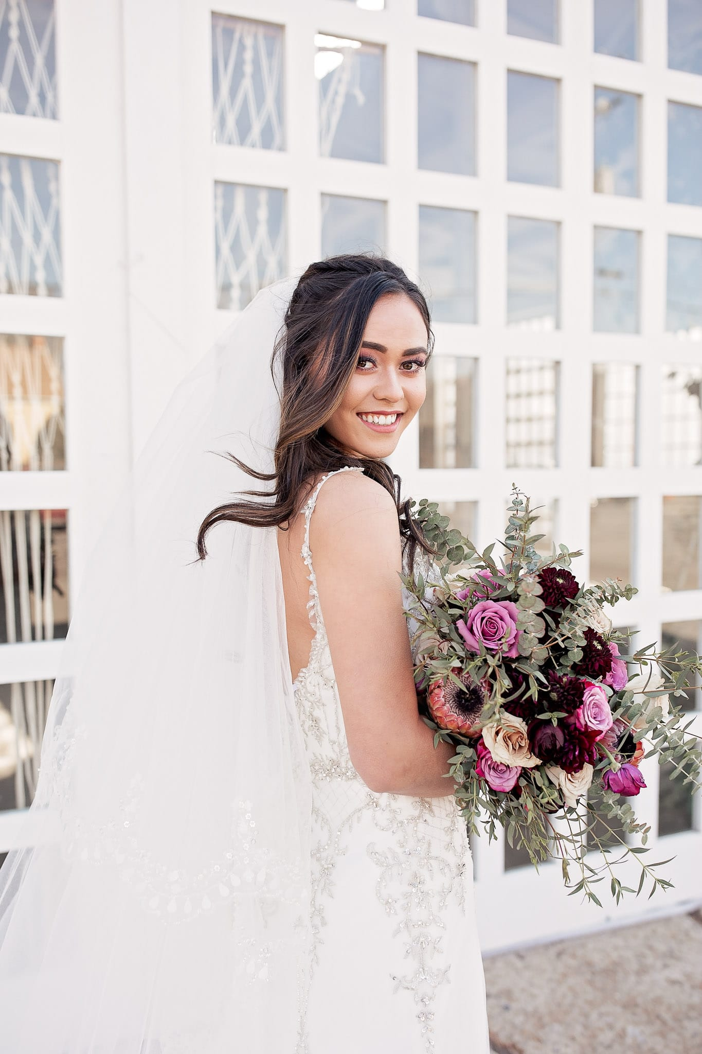 Chic and Romantic Styled Shoot Featuring Four Maggie Sottero Wedding Gowns.
