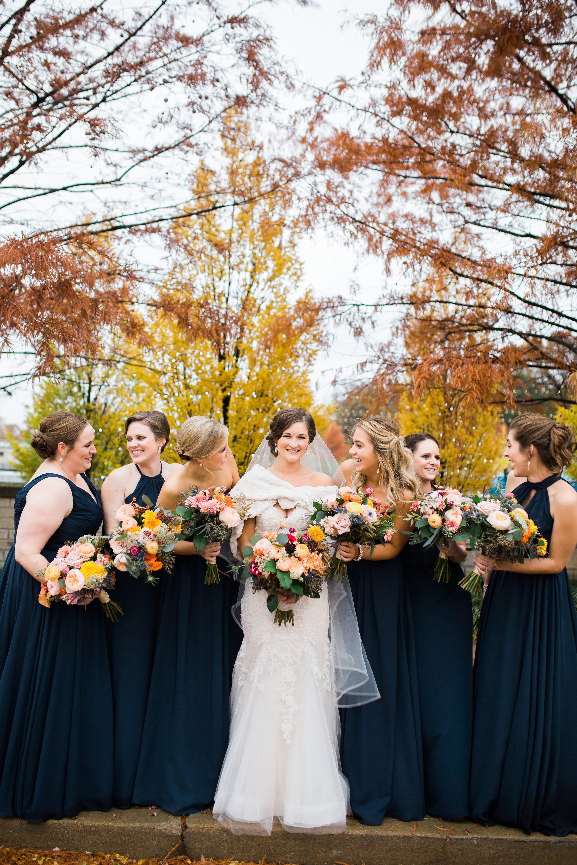 This Couple Wanted Their Fall Wedding to Feel Like Their Relationship - Maggie Sottero Bride Afton