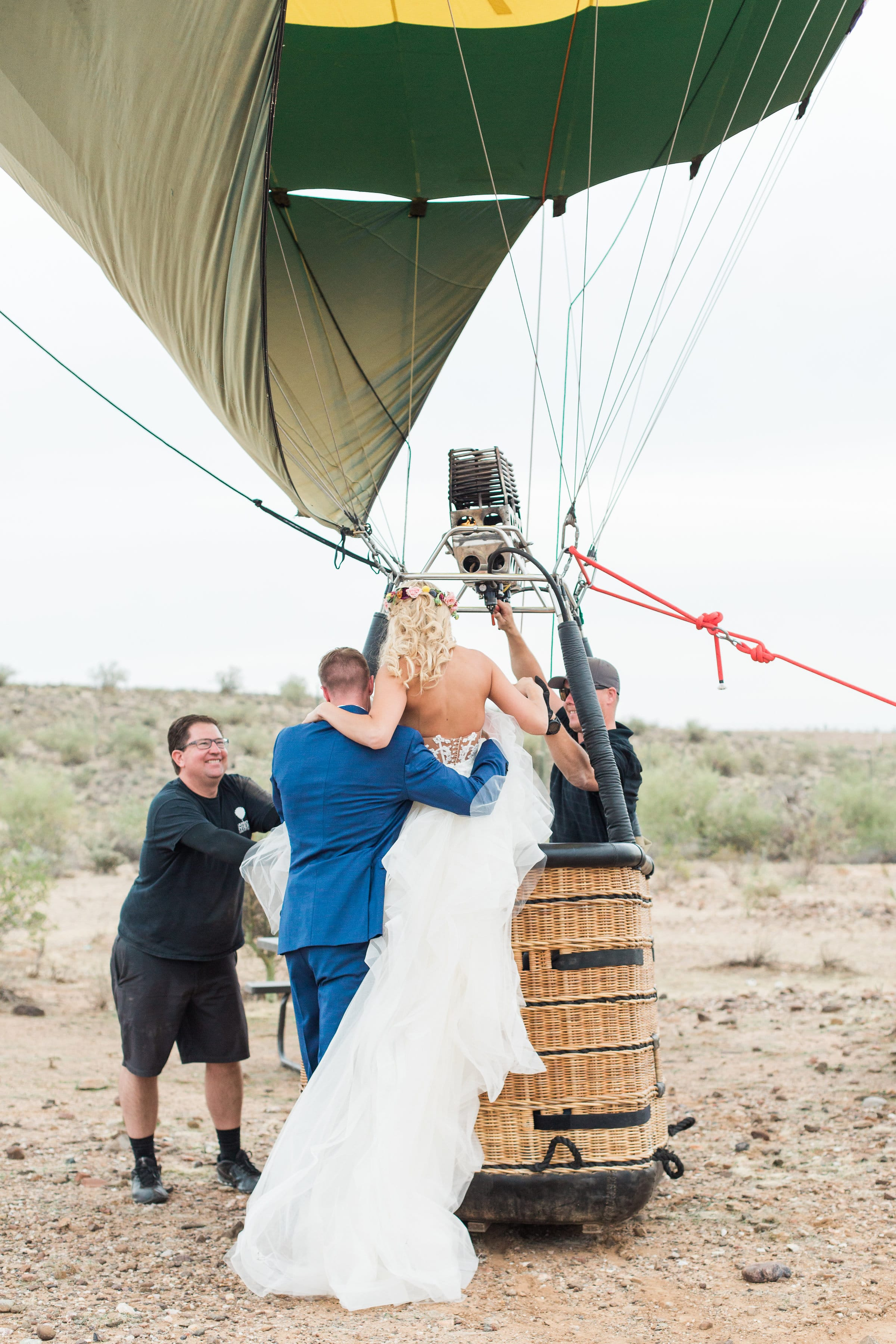 We're Over the Moon for this Hot Air Balloon Destination Wedding Idea  - Maggie Sottero Bride Keisha