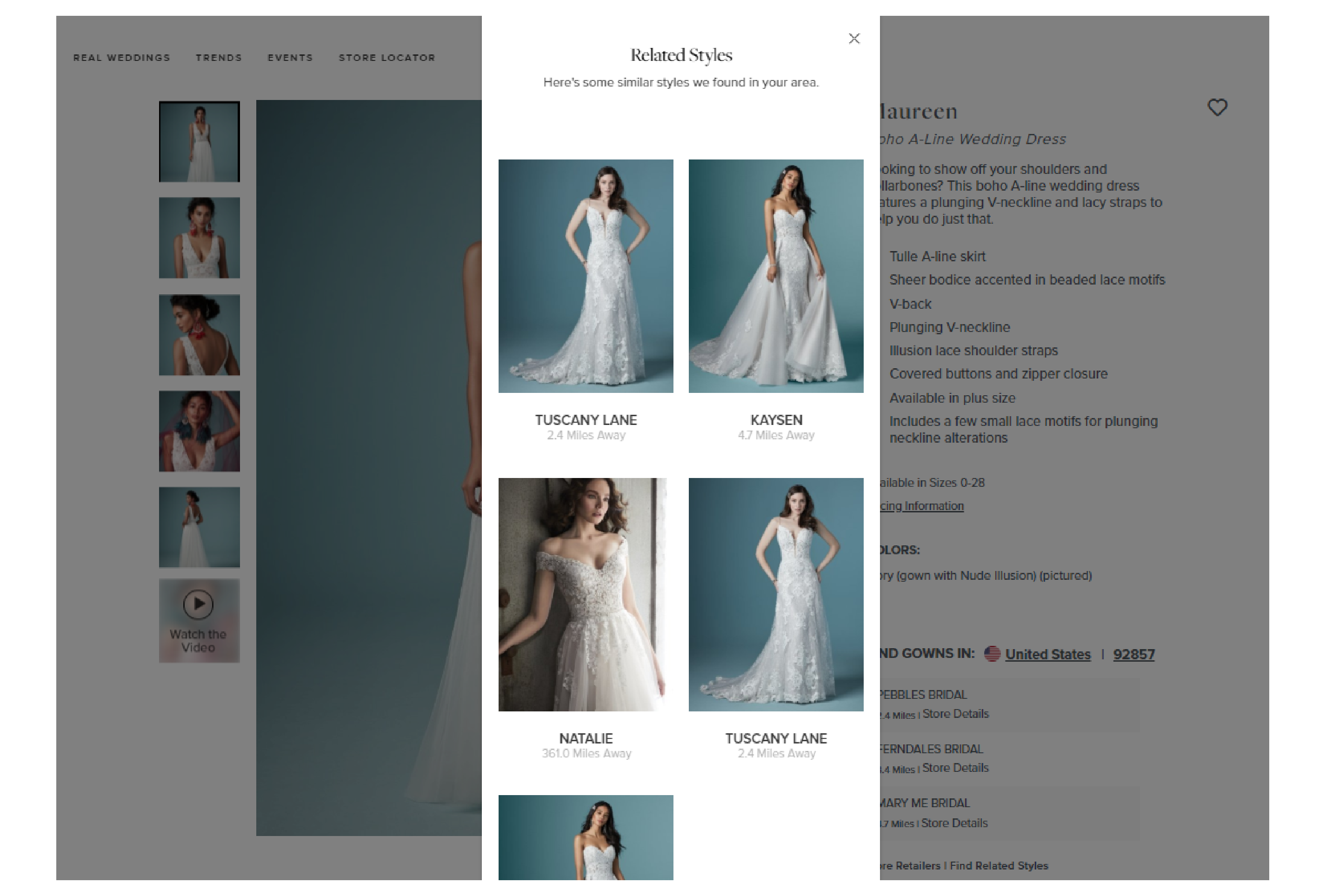 Related Styles Screenshot