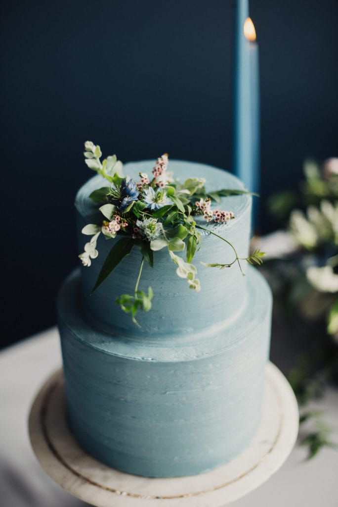 Blue Wedding Cake for Pantone's Color of the Year