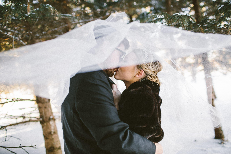 Intimate Winter Wedding at a Hygge-Chic Venue - Sottero & Midgely Bride Allen